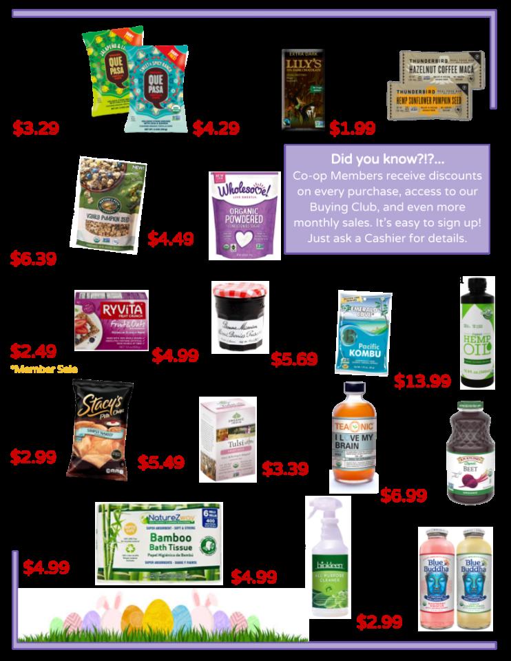 April Sales page 2