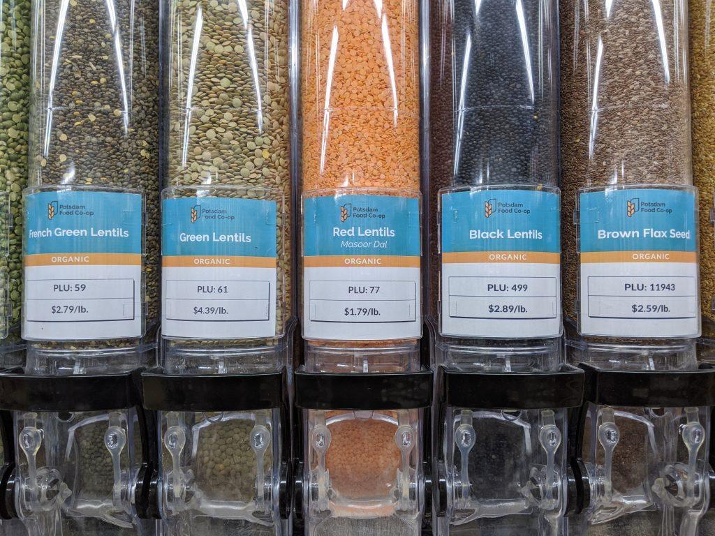 curbside grocery service - bulk bins