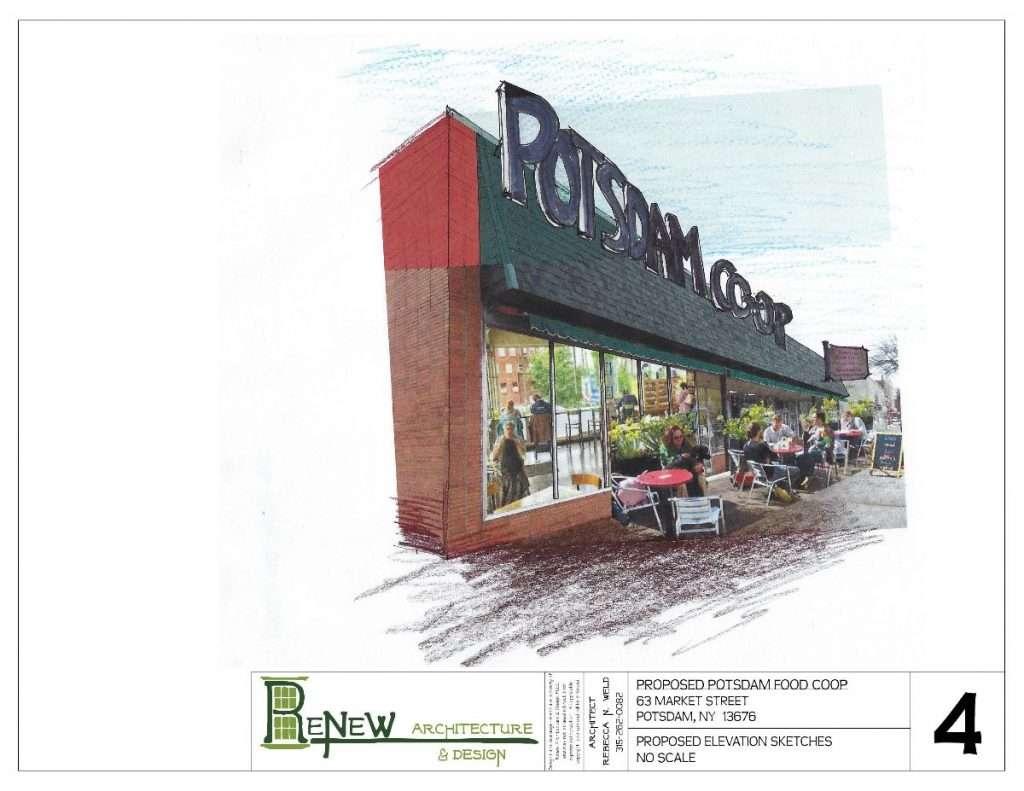 Potsdam Food Co-op Downtown Revitalization Initiative proposal