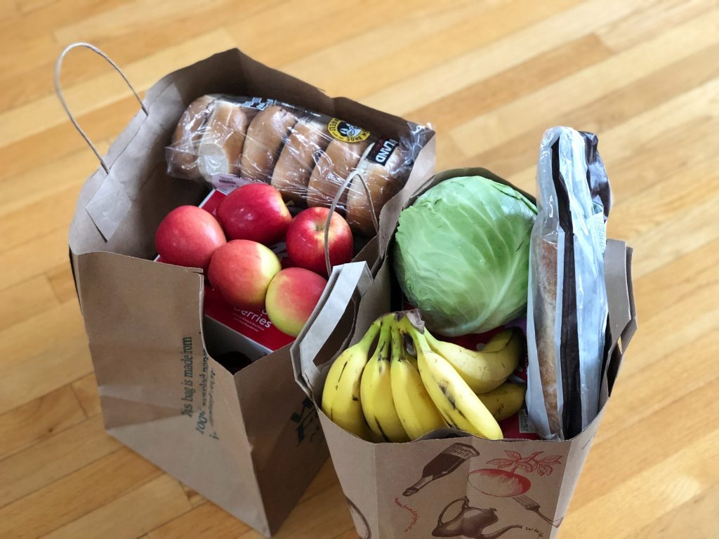 donation for curbside grocery